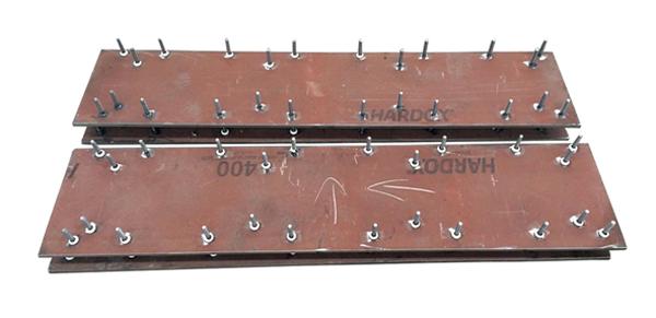 摊铺机熨平板底板