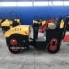 全液压双钢轮压土机震动压实机的行走速度